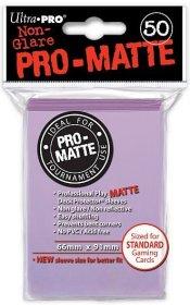 Koszulki Ultra Pro Non-Glare Pro-Matte LILIOWE (lilac) (50) [5E-84504]
