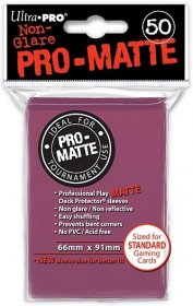 Koszulki Ultra Pro Non-Glare Pro-Matte JEŻYNOWE (blackberry) (50) [5E-84505]