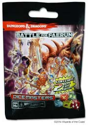 Dungeons & Dragons® Dice Masters™ Battle for Faerûn Gravity Feed Booster [WZK71788]
