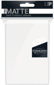 Koszulki Ultra Pro Non-Glare Pro-Matte BIAŁE (2×50) [5E-84513]