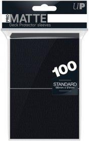 Koszulki Ultra Pro Non-Glare Pro-Matte CZARNE (2×50) [5E-84515]