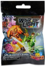DC Comics Dice Masters: War of Light Gravity Feed Booster [WZK72031]
