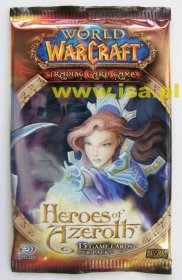 WOW: World of Warcraft TCG Heroes of Azeroth booster - zestaw dodatkowy [WOW47046]