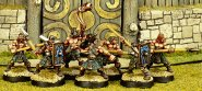 Gaels (Barbarzyńcy): Connor's Spearmen Warband (7) [IKC32309U]