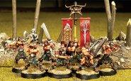 Gaels (Barbarzyńcy): Mannan's Warriors Warband (7) [IKC32310U]
