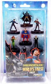 DC HeroClix: World's Finest Fast Forces [WZK72166]