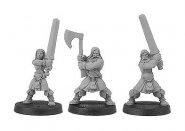 Gaels (Barbarzyńcy): Warriors W/Two Handed Weapons [IKC12315U]