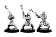 Gaels (Barbarzyńcy): Warriors W/Staff Slings Set 3 (3) [IKC12325U]