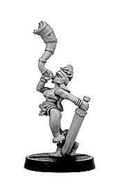 Gaels (Barbarzyńcy): Female Warrior Musician (ostatni 1 egz.) [IKC12327U]