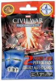 Marvel Dice Masters: Civil War Gravity Feed booster [WZK72260]