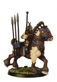 Gaels (Barbarzyńcy): Brennus Iron Spear On Battle Steed [IKC12342U]