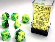 Kostki w kompletach (brick): GEMINI - Green-Yellow (7) [CHX26454]