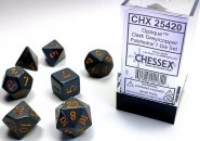 Kostki w kompletach (brick): MAT - Dark Grey (7) [CHX25420]