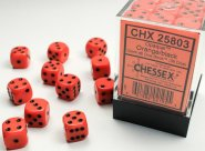 Zestaw (brick) 36 kostek k6 12 mm MAT - Orange [CHX25803]