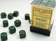 Zestaw (brick) 36 kostek k6 12 mm MAT - Dusty Green [CHX25815]