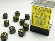 Zestaw (brick) 36 kostek k6 12 mm SPECKLED - Urban Camo [CHX25928]
