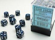 Zestaw (brick) 36 kostek k6 12 mm SPECKLED - Stealth [CHX25946]