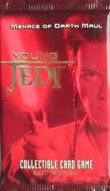 Young Jedi: Menace of Darth Maul booster - zestaw dodatkowy (11 kart) [35800556]