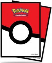 POKEMON: Koszulki na karty do gry POKEBALL (65) (ostatni 1 egz.) [5E-85120]