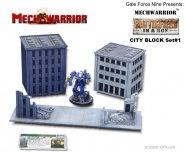 MechWarrior: Battlefield in a Box: City Block Set [GF920123]