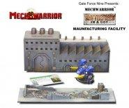 MechWarrior: Battlefield in a Box: Manufacturing Facility [GF920121]