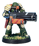 11114 Viridian Assault Marine Chain Gun [IKV11114U]