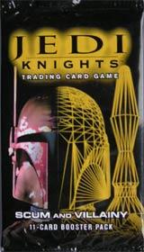 Jedi Knights: SCUM & VILLAINY booster - zestaw dodatkowy (11 kart) [35800711]
