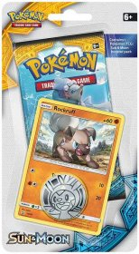 POKEMON: Sun & Moon CHECKLANE blister - ROCKRUFF [POK80197]