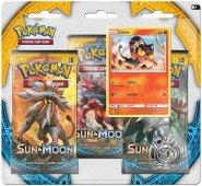 POKEMON: Sun & Moon 3PK blister - LITTEN [POK80196]