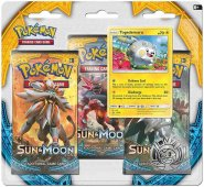 POKEMON: Sun & Moon 3PK blister - TOGEDEMARU [POK80196]