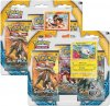 POKEMON: Sun & Moon 3PK blister KOMPLET - LITTEN+TOGEDEMARU [POK80196×2]