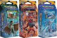 POKEMON: Sun & Moon Theme Deck KOMPLET Forest Shadow+Roaring Heat+Bright Tide [POK80199×3]