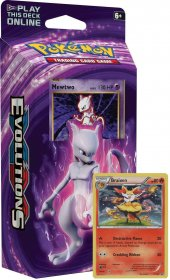 POKEMON: XY12 Evolutions Theme Deck MEWTWO MAYHEM (Mewtwo+Braixen) [POK80160]