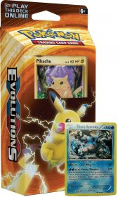 POKEMON: XY12 Evolutions Theme Deck PIKACHU POWER (Pikachu+Black Kyurem) [POK80160]