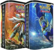 POKEMON: 2017 Deck Shield Tin KOMPLET - Solgaleo i Lunala [POK80211]
