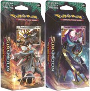 POKEMON: S&M2 Guardians Rising Theme Deck KOMPLET Steel Sun (Solgaleo) i Hidden Moon (Lunala) [POK80221×2]