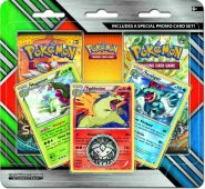 POKEMON: Enhanced 2-Pack Blister z Meganium, Typhlosion i Feraligatr [POK80299]
