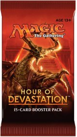 Magic the Gathering: Hour of Devastation BOOSTER - zestaw dodatkowy [MTG51423]