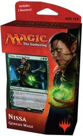 Magic the Gathering: Hour of Devastation Planeswalker Deck NISSA Genesis Mage [MTG51539]