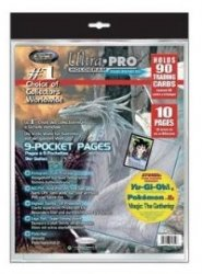 "Wkładki/strony do segregatora na karty Ultra Pro ""Platinum"" (10) [5E-81359]"