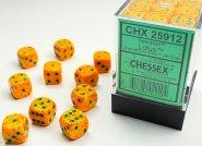 Zestaw (brick) 36 kostek k6 12 mm SPECKLED - Lotus [CHX25912]
