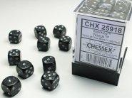 Zestaw (brick) 36 kostek k6 12 mm SPECKLED - Ninja [CHX25918]