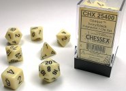 Kostki w kompletach (brick): MAT - Ivory/black (7) [CHX25400]