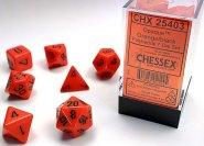 Kostki w kompletach (brick): MAT - Orange/black (7) [CHX25403]