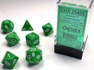 Kostki w kompletach (brick): MAT - Green/white (7) [CHX25405]
