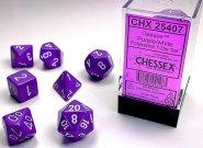 Kostki w kompletach (brick): MAT - Purple/white (7) [CHX25407]
