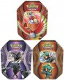 POKEMON TCG: Fall Tin 2017 Mysterious Powers KOMPLET 3 puszek [POK80264×3]