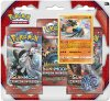 POKEMON: S&M4 Crimson Invasion 3PK blister - LUCARIO [POK80251]