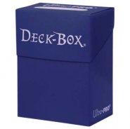 Plastikowe pudełko na karty (Deck Box) GRANATOWE [5E-81429]
