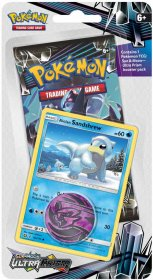 POKEMON: S&M5 Ultra Prism CHECKLANE blister - Alolan Sandshrew [POK80347]